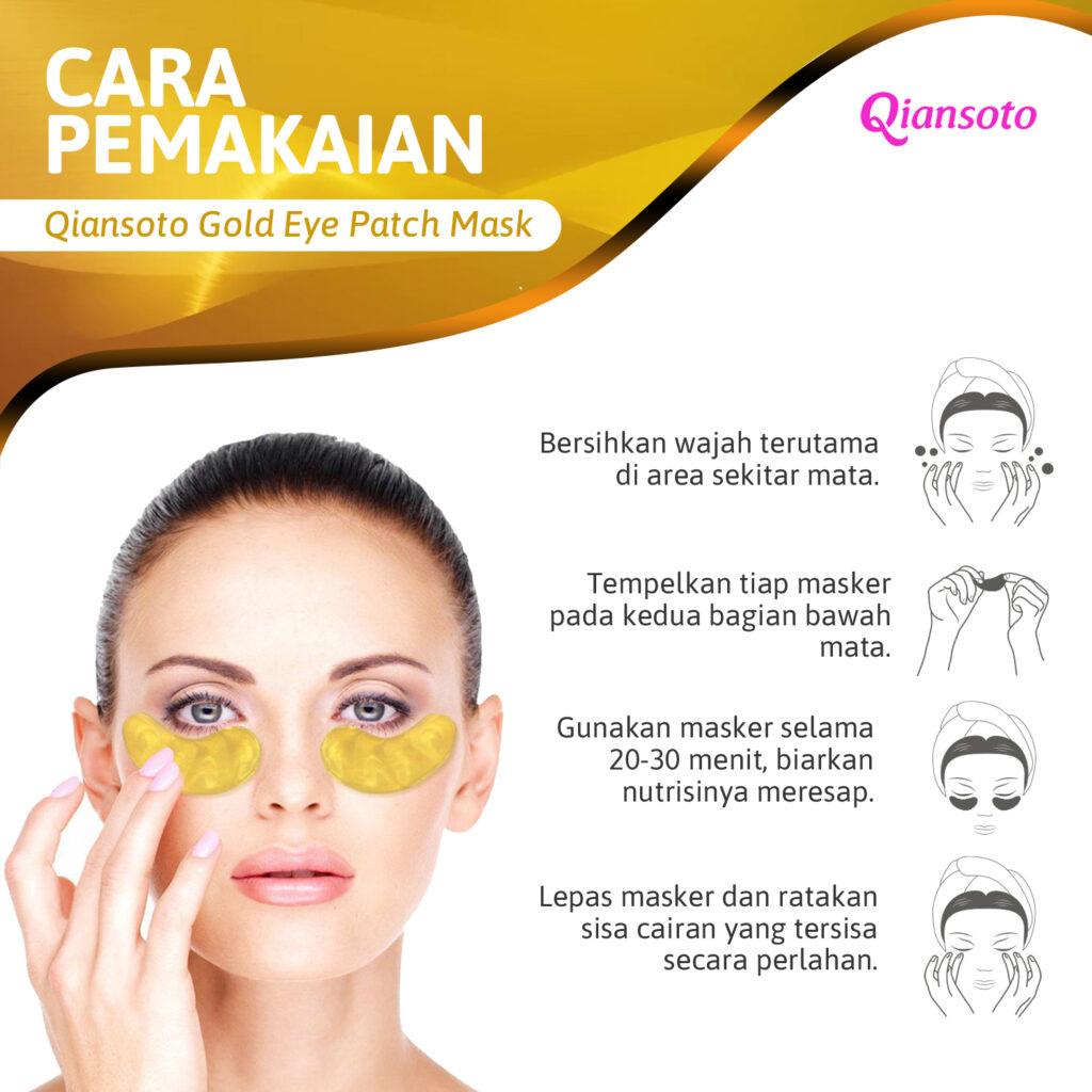 eyemask gold