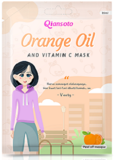 Qiansoto Peel Off Orange